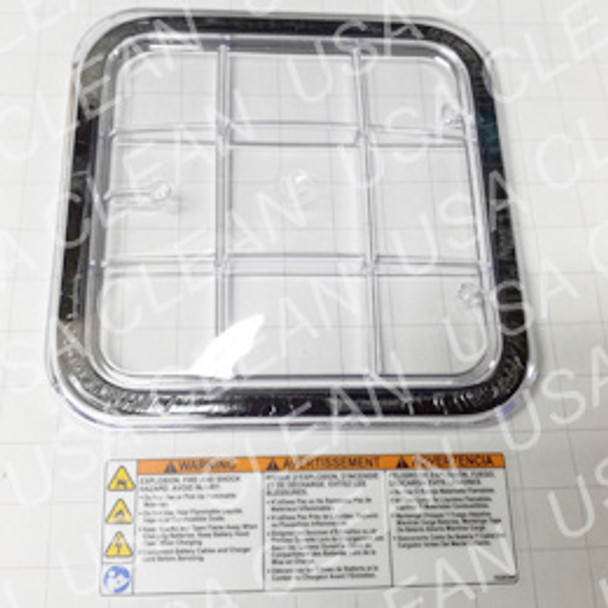 Tank lid and decal assembly 175-4224