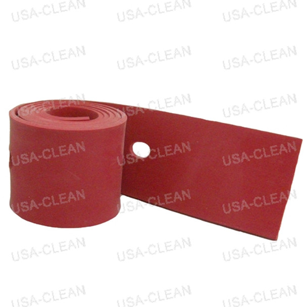 Squeegee blade rear curved 189-0284