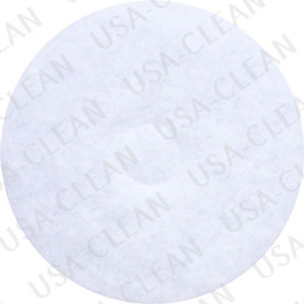 14 inch Cure white pad (pkg of 5) 255-1412
