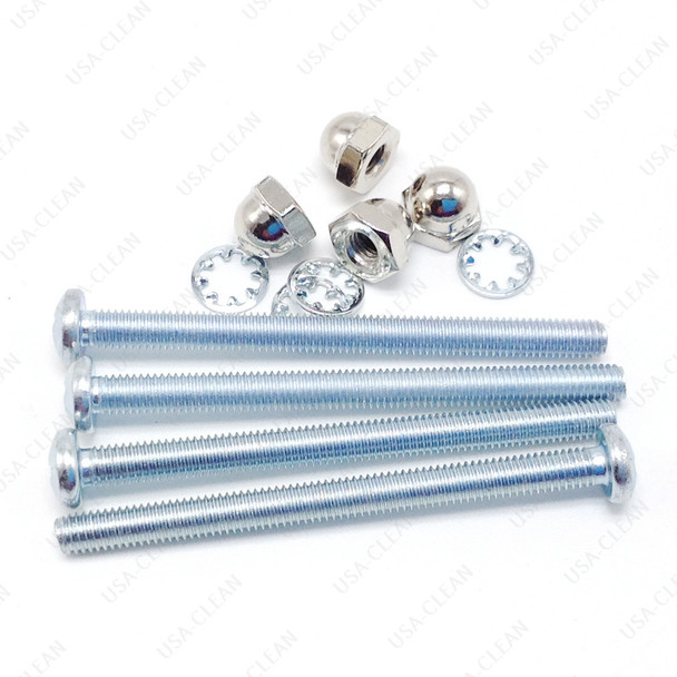 Screws and nuts for back plate 217-0554