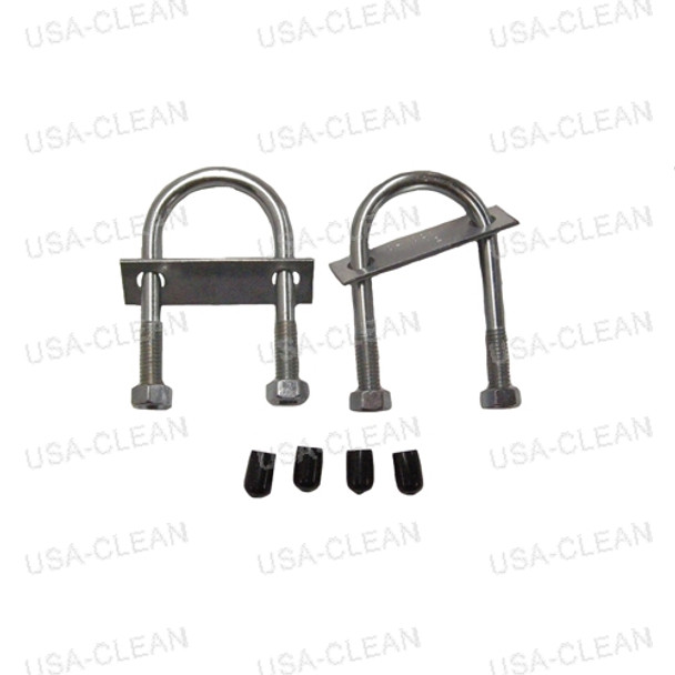 U bolt assembly (set of 2) 209-0049