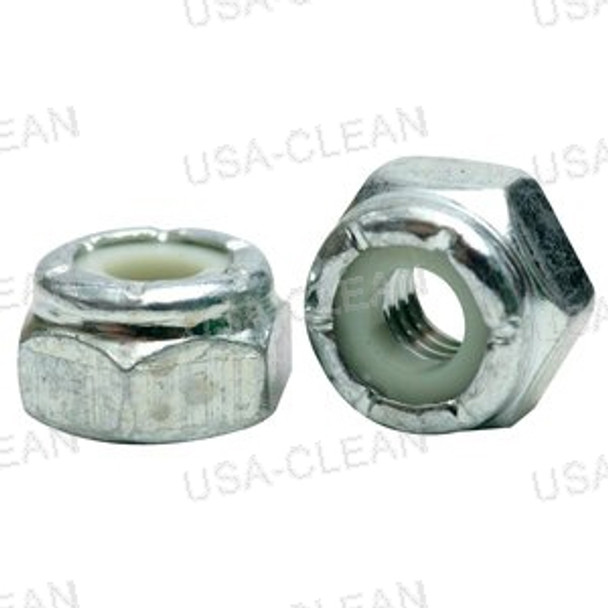 Nut 1/4-20 nylon insert lock zinc plated 999-0152