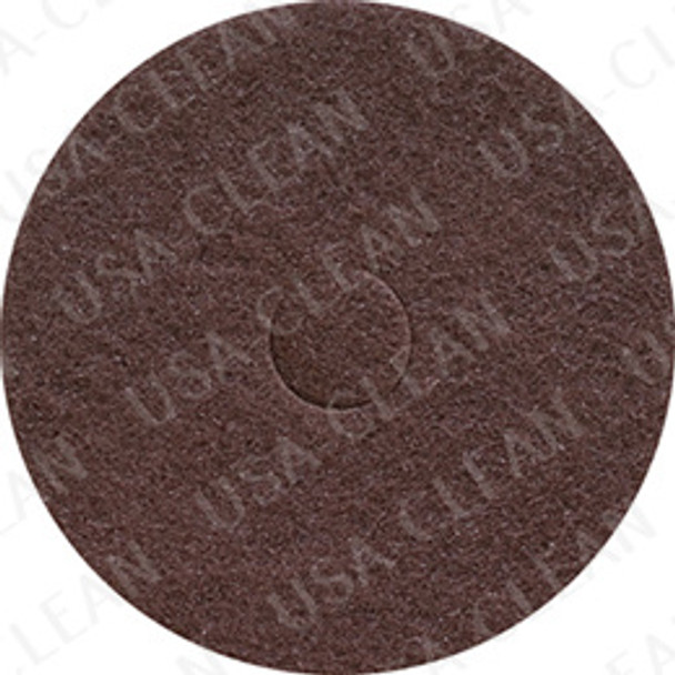 20 inch premium brown stripping pad (pkg of 5) 255-2092