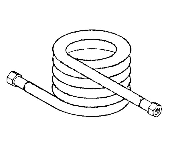 50 foot solution hose assembly 175-3588