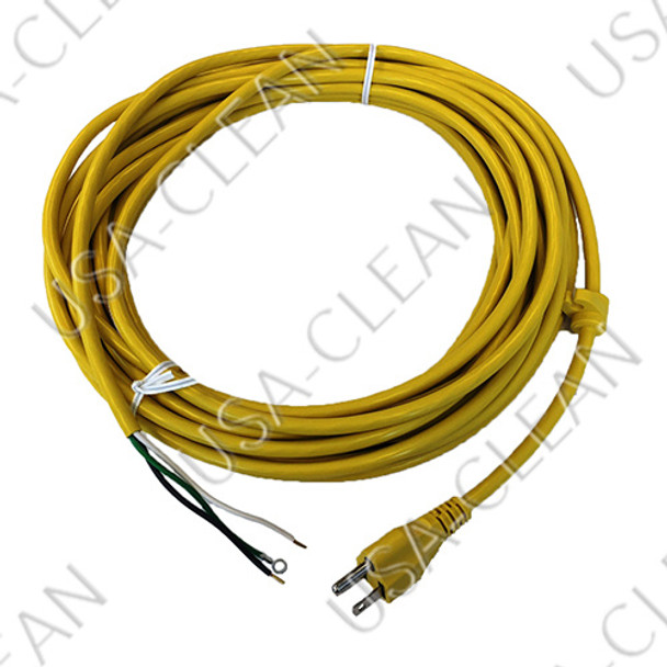 18/3 power cord 40 foot (yellow) 993-2906