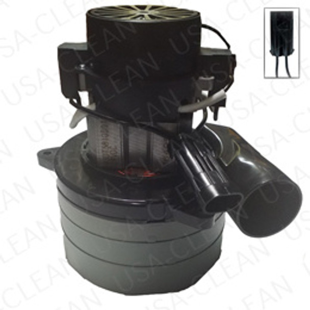 24V 3 stage vacuum motor tangential with Packard plug 991-1210-P