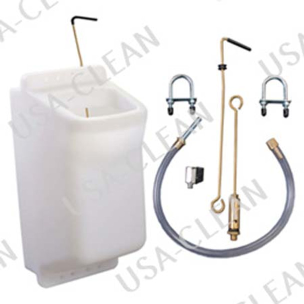 4 gallon solution tank kit for round handle side x sides 209-0013