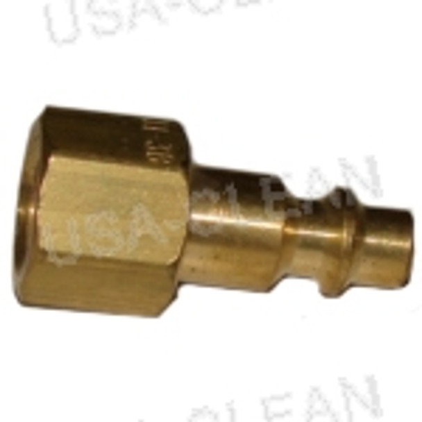 "BH3C, 1/4"" fpt, male nipple, mate to QD60 or QD65 991-8147"