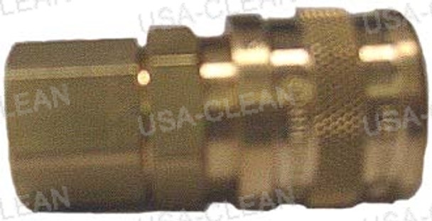 "B23, 1/4"" fpt, female coupler, mate to QD20 or QD25 991-8155"