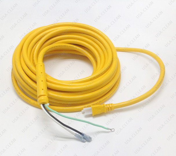 14/3 yellow power cord set 50 ft (with strain relief) 173-0335