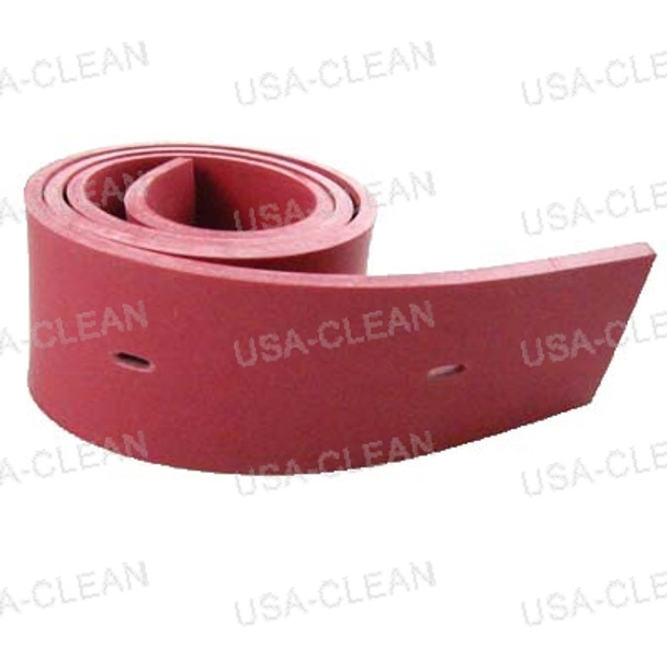 Squeegee blade 20 inch linatex rear (red) 175-7961