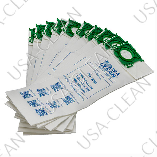 Paper vacuum bags (pkg of 10) Versamatic Plus/Sensor 991-9005