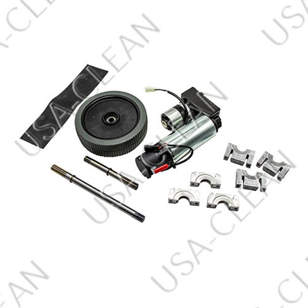 Drive motor and rear wheel assembly 240-1323