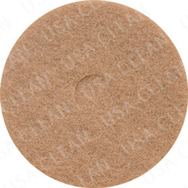 17 inch premium tan polishing pad (pkg of 5) 255-1752