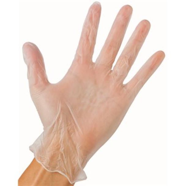 Large powder free vinyl gloves (box of 100) - 800-0065