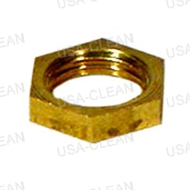 Nut 1/8 brass lock 209-0044