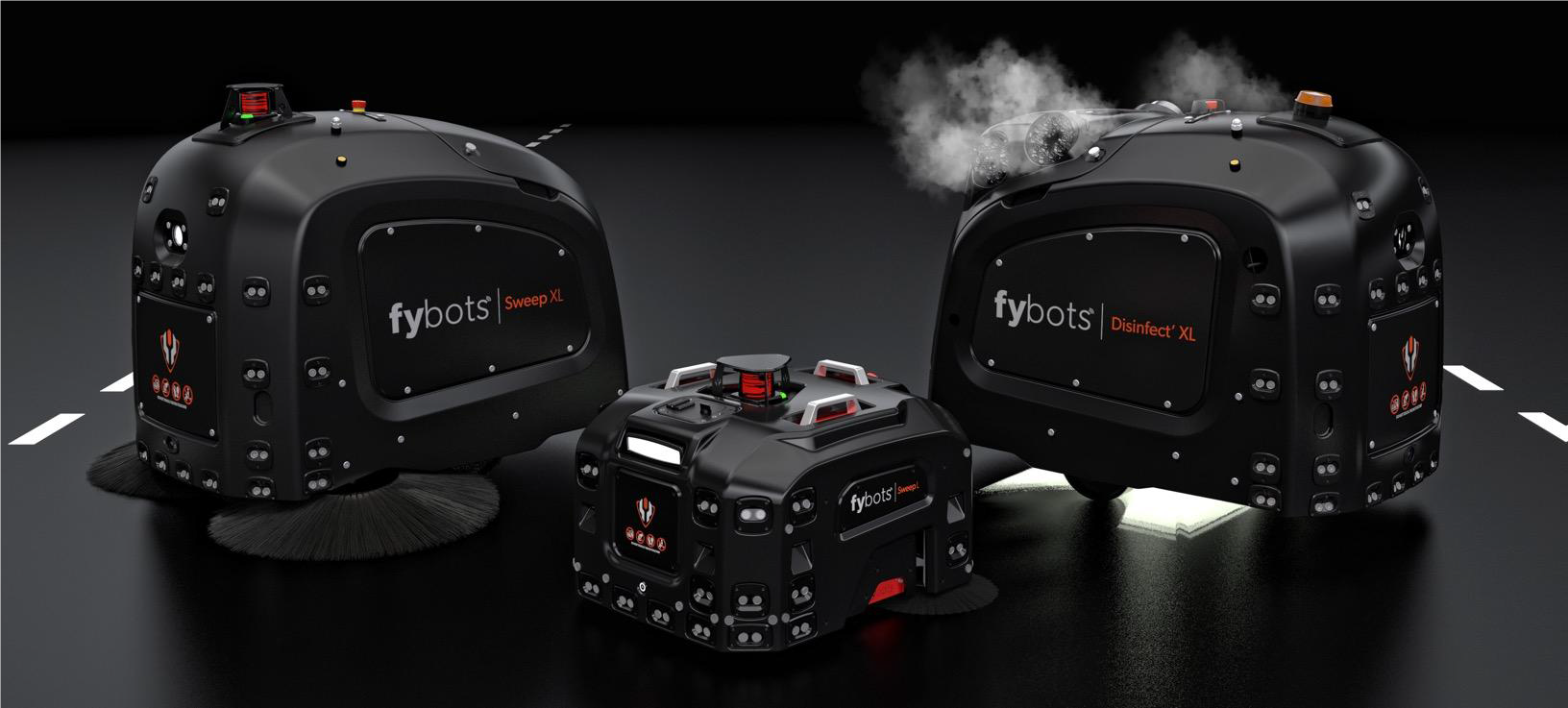 Fybots - super smart cleaning & disinfecting robots