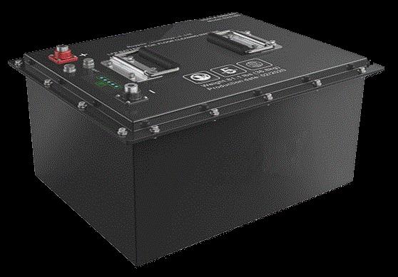 24V 105amp lithium battery