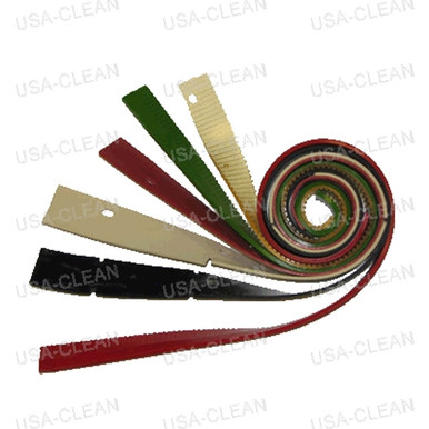 Squeegee Blade 32 Inch Linatex Front Red 993 0834