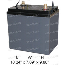 6V 224Ah AGM battery (Group GC2) 162-0043