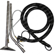 Metal floor tool assembly with hose 275-5825