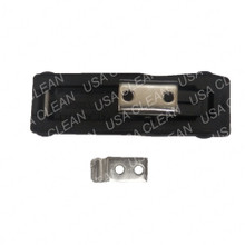 Rubber draw latch with keeper 991-8561