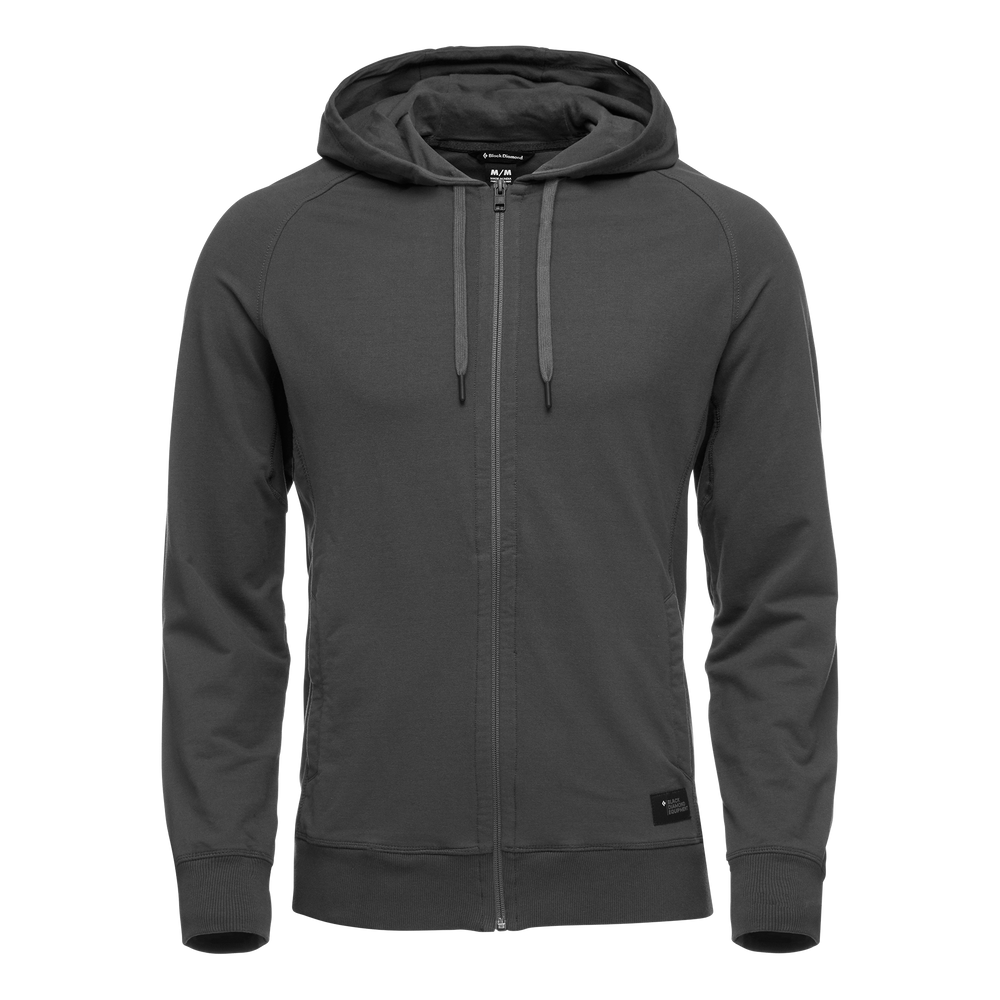 M BASIS FULL ZIP HOODY