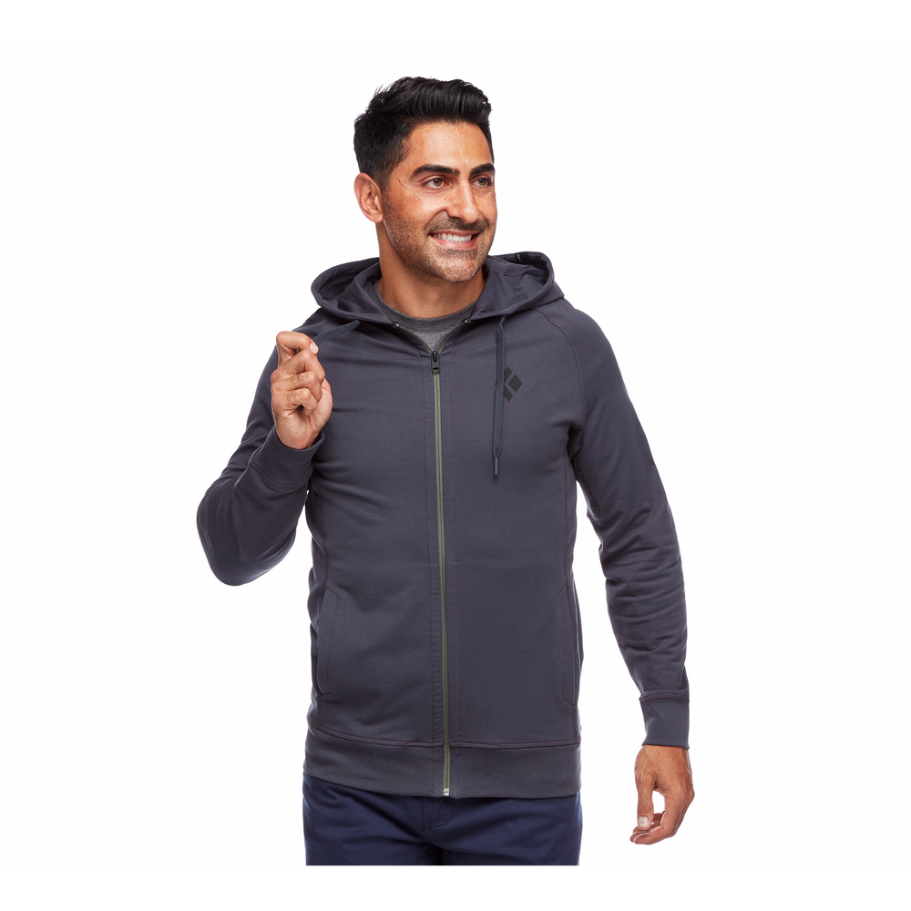 Fullzip Hoody Stacked - Men's
