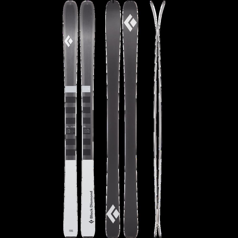 Helio 76 Carbon Skis