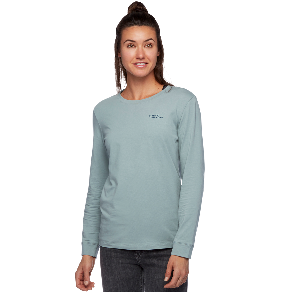 LS BD Forest Diamond Tee - Women's
