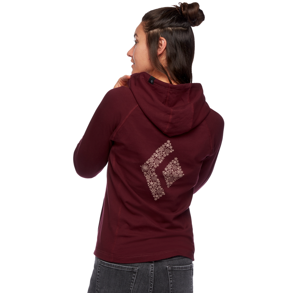 Snow Diamond Full Zip Hoody - Women's