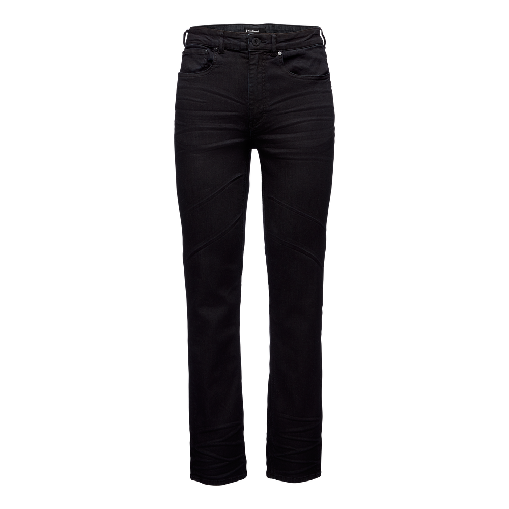 Forged Denim Pants - Mens