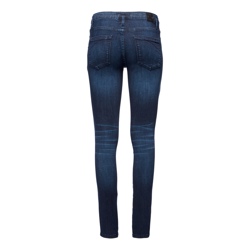 Forged Denim Pants - Women's