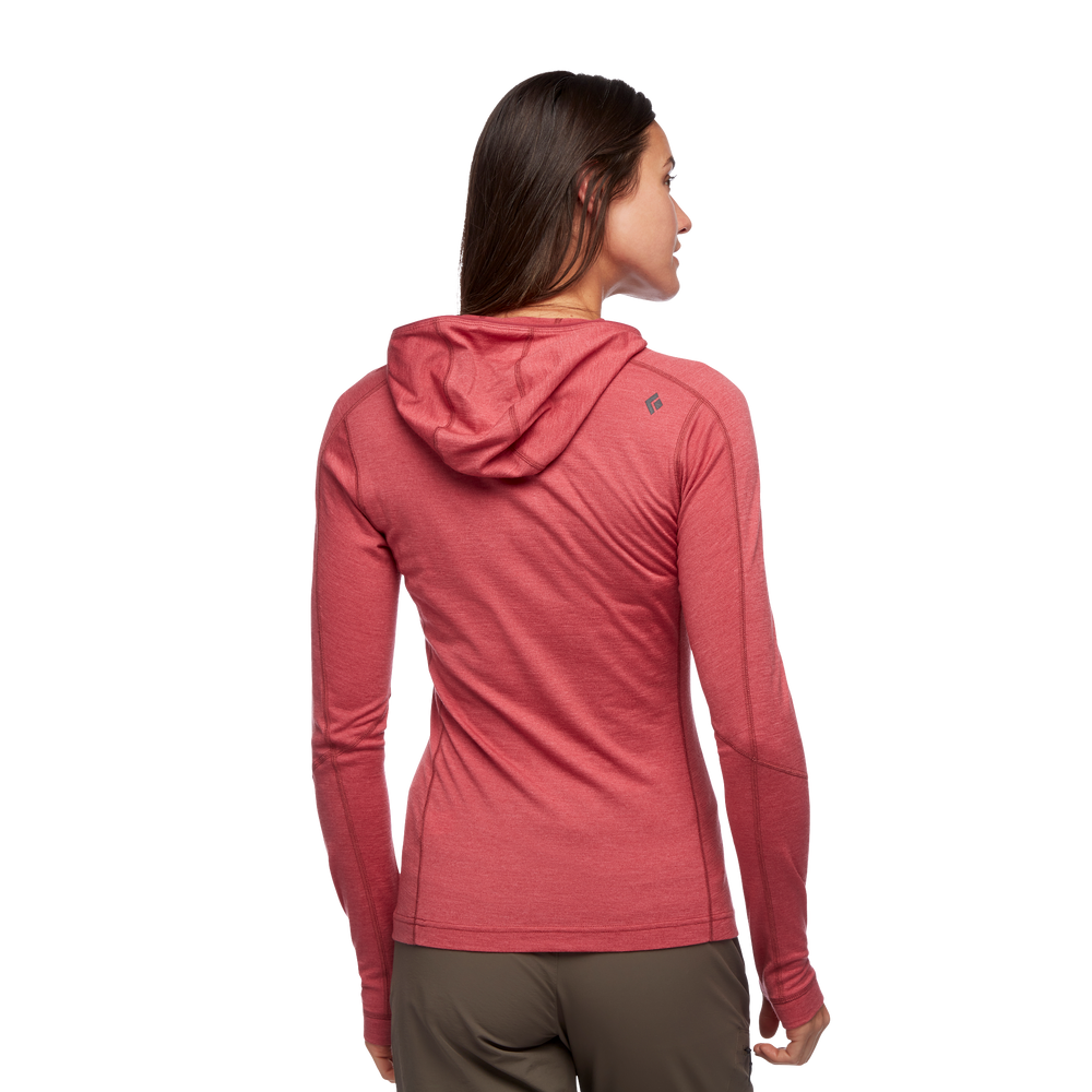 Solution 150 Merino Quarter  Zip Hoody - Women's