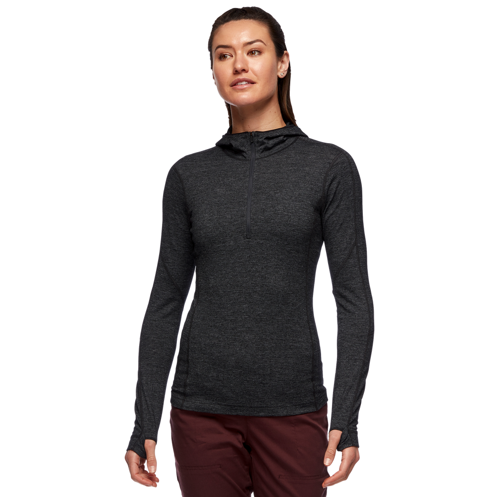 Solution 150 Base 1/4 Zip Hoody - Women's