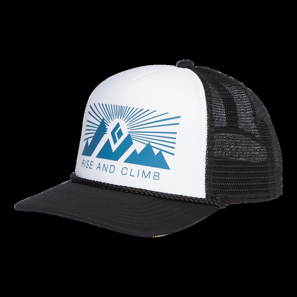 Flat Bill Trucker Hat