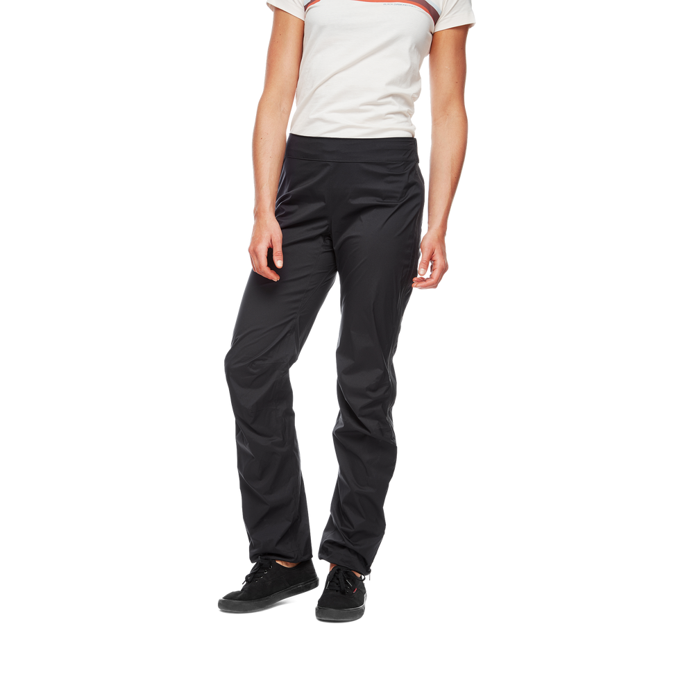 Stormline Stretch Full Zip Rain Pants- Women's