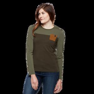 Long Sleeve Campus T-Shirt - Women's