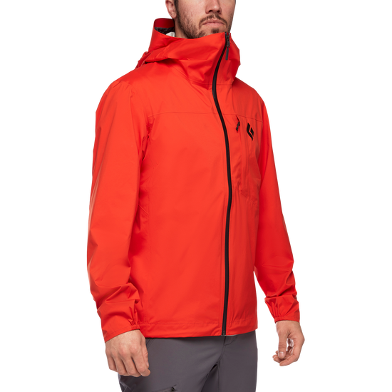 Fineline Stretch Rain Shell - Men's