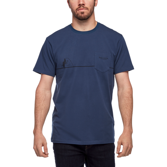 M HALF DOME POCKET TEE