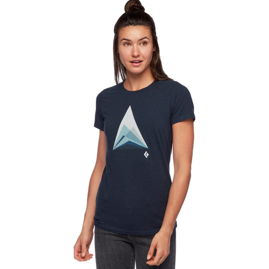 W MOUNTAIN TRANSPARENCY TEE