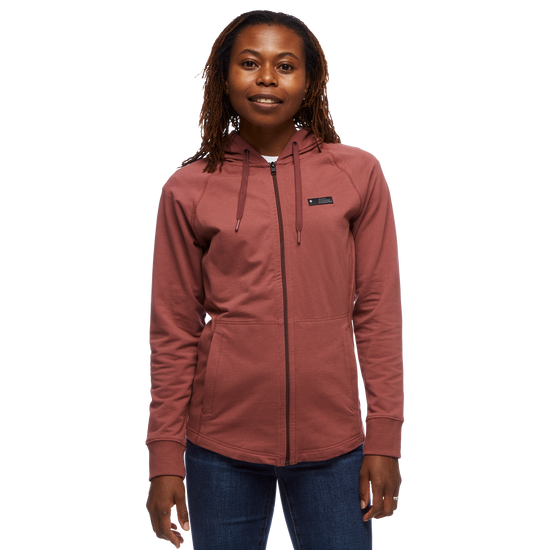 Mountain Transparency Full Zip Hoody - Women's