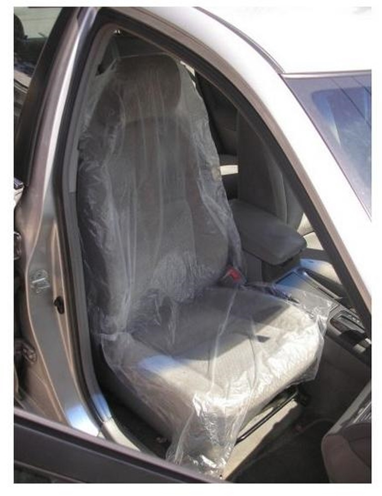 Hi-Tech 500 Count Roll Disposable Plastic Seat Covers