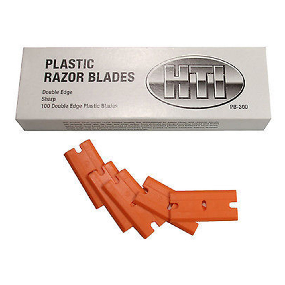 Hi-Tech Double Edge Plastic Razor Blades
