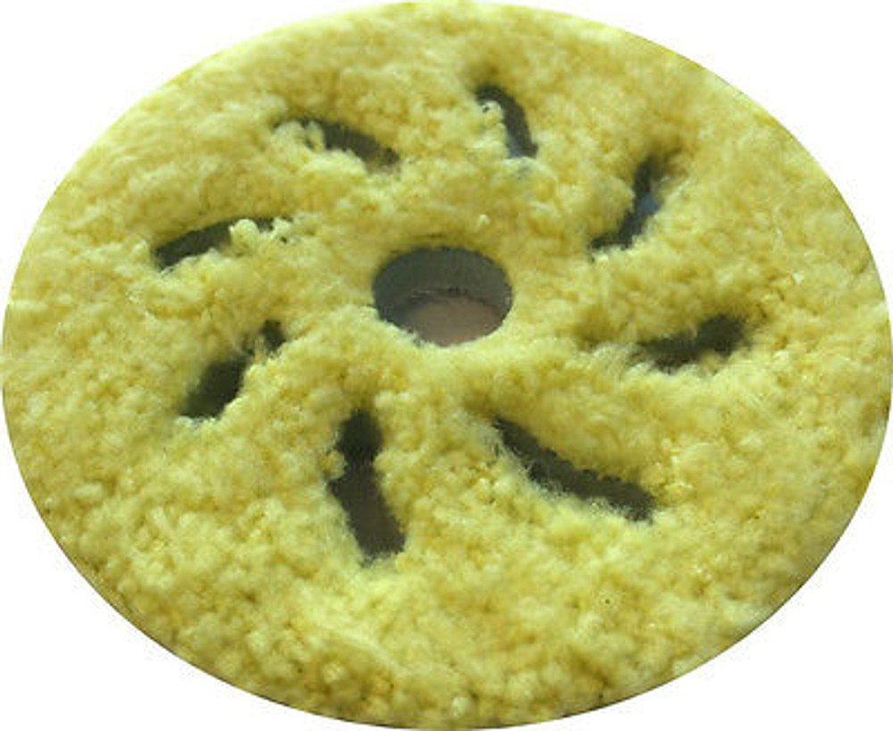 Rupes 3 Inch Yellow Microfiber Finishing Pad