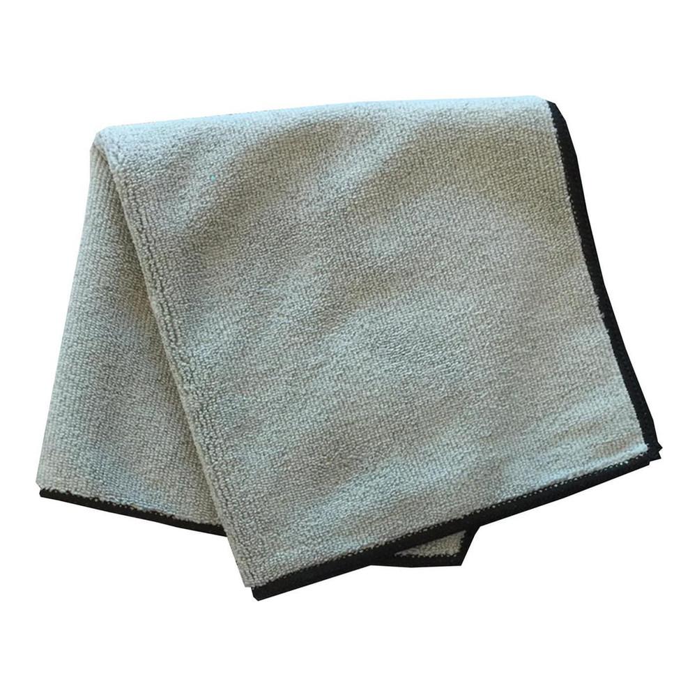 Gray 300 GSM Microfiber Towel