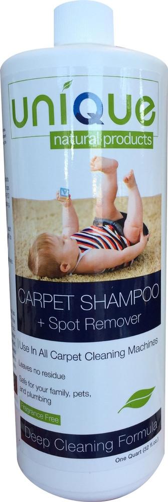 Unique Natural Products Carpet Shampoo + Spot Remover