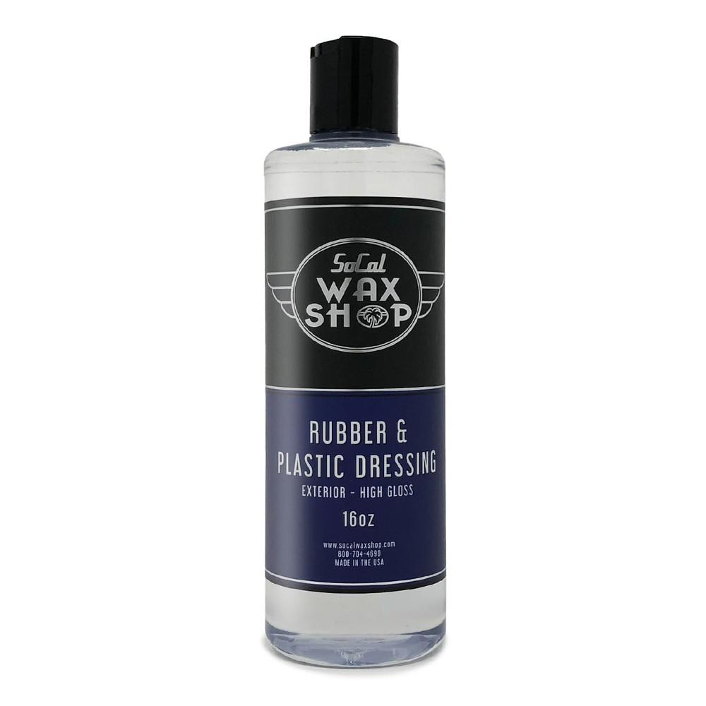 Rubber & Plastic Dressing SoCal Wax Shop