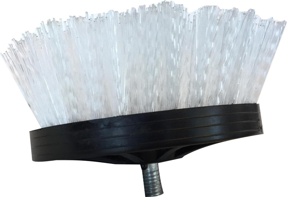 Hi-Tech White Nylon Carpet Brush 5/16-24 Thread