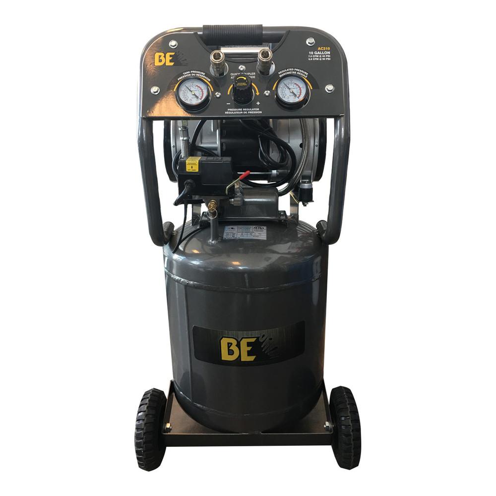 10 Gallon Oil-Less Air Compressor